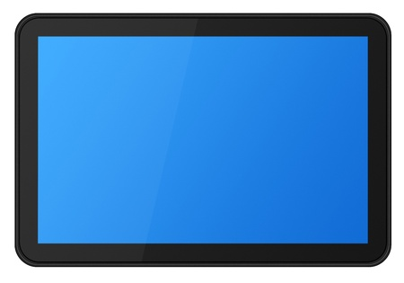 Touch screen digital tablet  photo