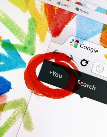 google: Kiev, Ucrania - 28 de diciembre de 2011: Google + proyecto ha llegado a 62 millones de usuarios registrados, y hasta la firma de m�s de 625.000 nuevos usuarios por d�a, seg�n el informe de Paul Allen, fundador de Ancestry.com