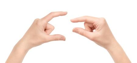 제스처: 두 여자 손