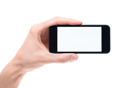 mobilephones: Men Stock Photo