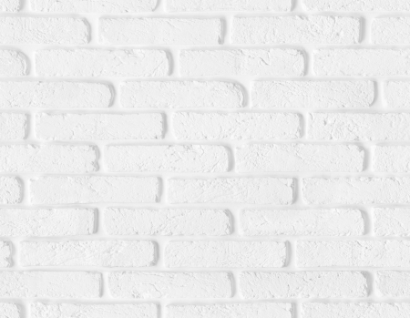 Seamless white brick wall texture with blank copy space  High quality seamless background