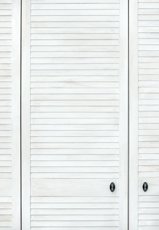 White modern wooden door in Shabby shic or Provence style  Vertical wooden background Stock Photo - 20856900