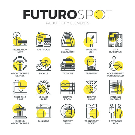 giao thông vận tải: biểu tượng dòng Stroke thiết lập các yếu tố du lịch thành phố, báo hiệu đường bộ để vận chuyển. Modern phẳng tuyến tính khái niệm tượng hình. Chất lượng cao cấp bộ sưu tập biểu tượng phác thảo. Đơn giản vật liệu thiết kế vector đồ họa web.
