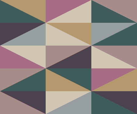 Abstract vector geometric pattern of warm colors with simple geometry shape and minimalist figures.