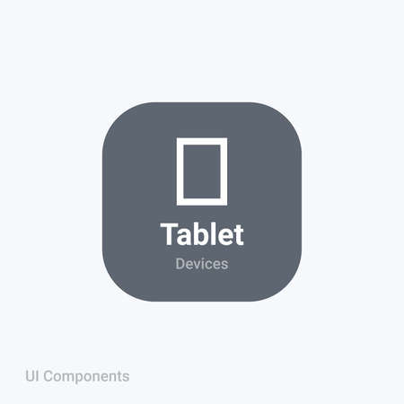 tablet mobile display app fully editable vector icon referring 24x24 pixel grid with the material design system for app design projects.