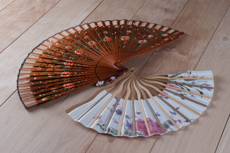 Spanish and Japanese Hand Fans photo