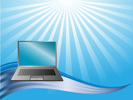 abstract background with Notebook Vector