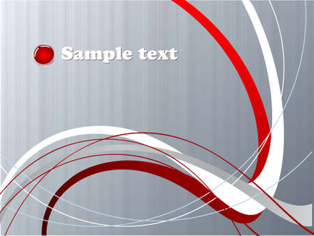 horizontal line: Abstract vector background for company presentation
