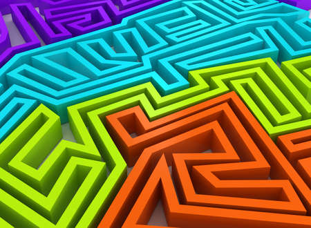 3d abstract background. Rendering image Stock Photo - 7695404