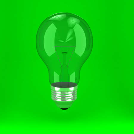 Bulb over background Stock Photo - 9455786