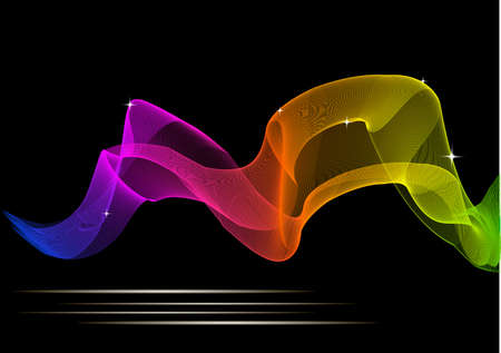 Abstract glowing color background for your design. EPS10 Çizim