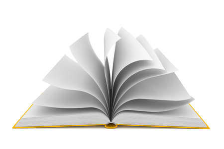 portadas de libros: Libro abierto sobre fondo blanco