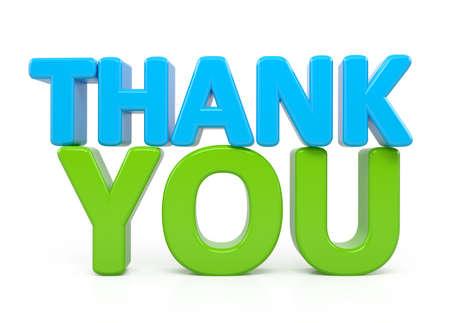 merci: Merci mot sur blanc