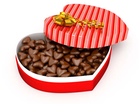 Box of chocolates for Valentine photo