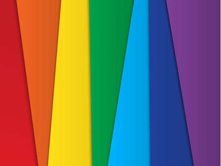Bright abstract vector rainbow background Vector