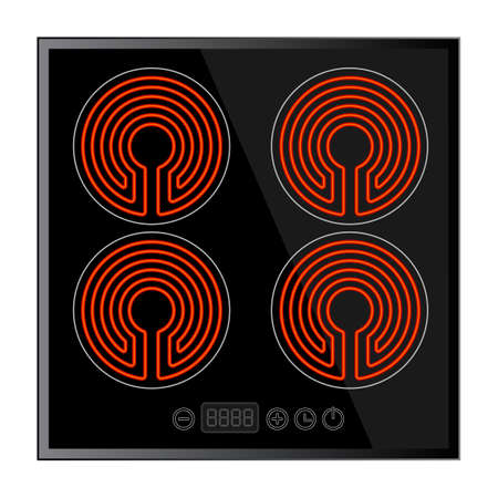 stove: Kitchen - ceramic hob, household appliances