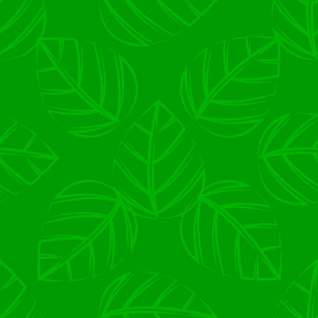 green leafs: A seamless green leafs tile