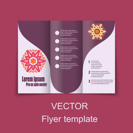 publisher: Brochures design for social infographic presentation. Vector Illustration