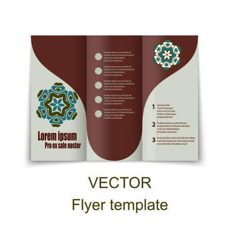 layout design template: Vector Brochure Layout Design Template. EPS10 illustration Illustration