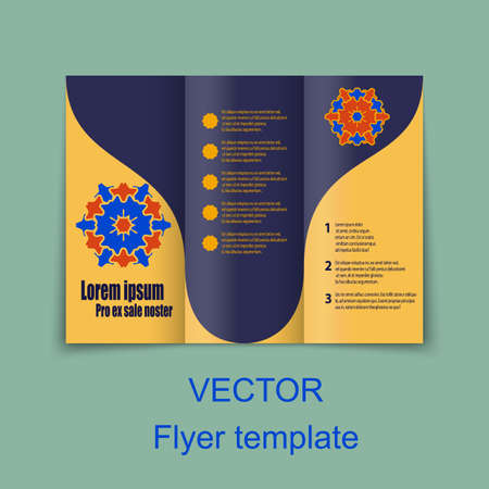 design template: Vector Brochure Layout Design Template.
