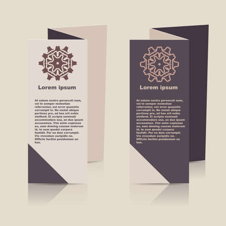 lay-out: Vector Brochure Layout Design Template.
