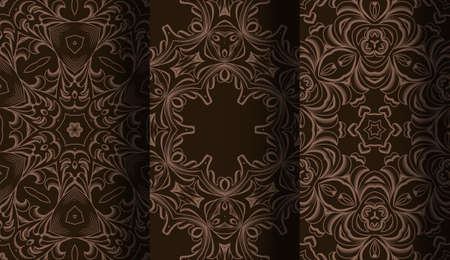 stripes seamless: Vector of Seamless Patterns set. Illustration