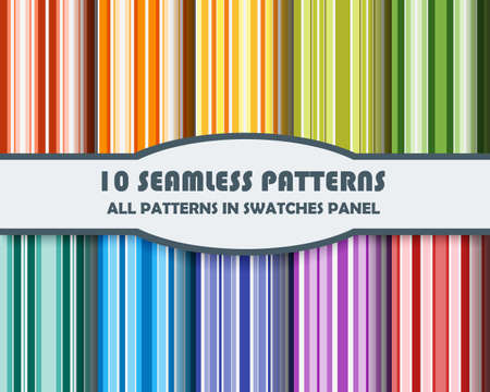 line pattern: vector set of geometric patterns for design.
