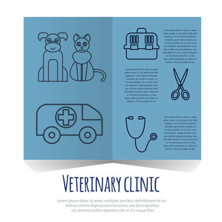 health care and medicine: Veterinary pet health care animal medicine icons set isolated Stock Photo