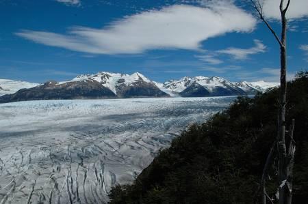 patagonia: Patagonia Glacier Gray Stock Photo