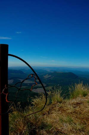 view from the top of Saddle Mountain