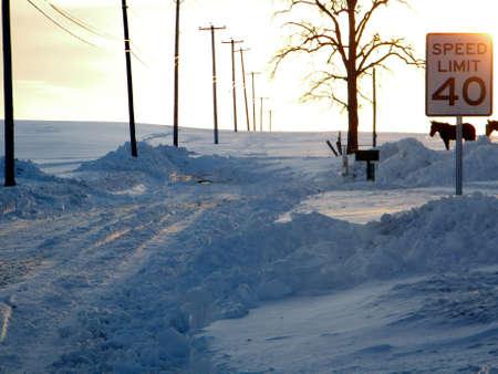 Snow Closed All