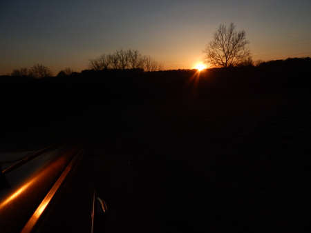 fender: Sunset on the Fender