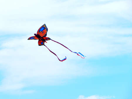 md: Kites at the Beach - Ocean City, MD Stock Photo