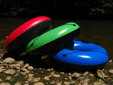 downstream: Tubing Rest Area Island - Color