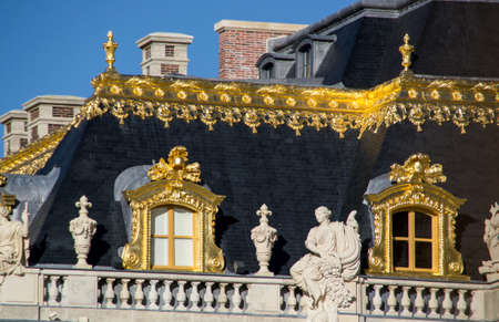 Glimpse of the Royal roof of Versailles photo