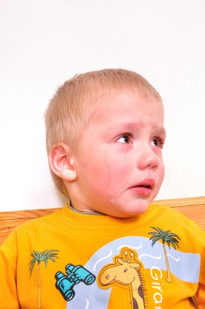crying boy Stock Photo - 4493306