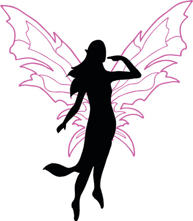 fairy vector silhouette illustration royalty free cliparts vectors rh 123rf com ferry victoria seattle ferry victoria to port angeles