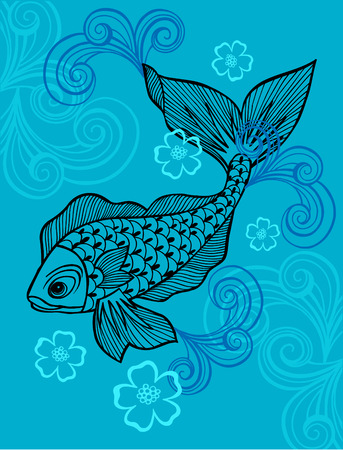 Fish Vector Illustration Stock Vector - 3281183