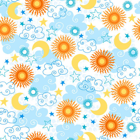 Seamless Repeat Pattern Vector Illustration Stock Vector - 3668439