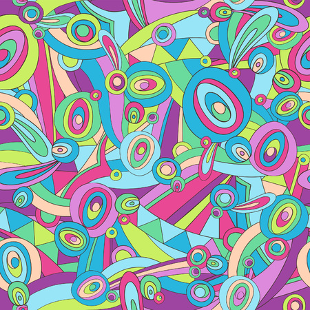 Abstract Pucci Herhaal Seamless Pattern Vector Illustratie: Stock Illustratie