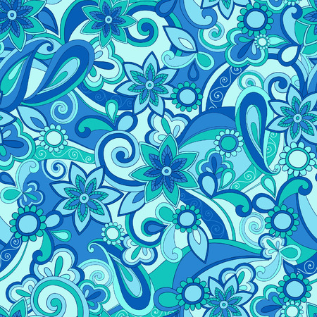 Funky Pucci Seamless Repeat Pattern Vector Illustration Vector