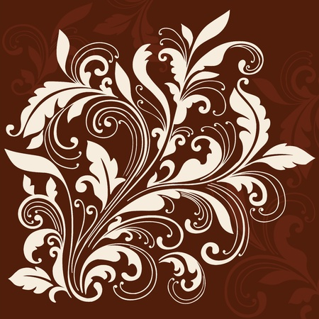 embellishment: Ornamental Flourishes and Vines Swirly Silhouette Vector Illustration Design Elements