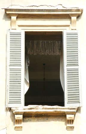 kreta: Window Stock Photo