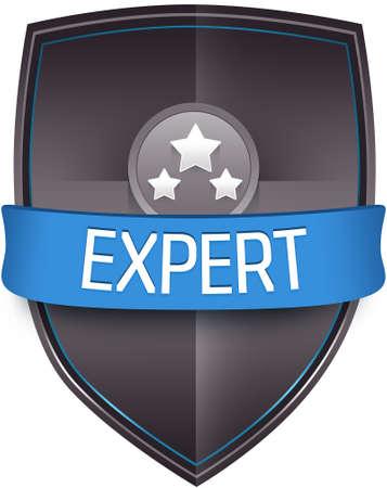 experte: Expert Emblem Illustration Illustration