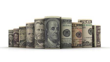 alexander hamilton: Ritratti di presidenti degli Stati Uniti in banconote da un dollaro
