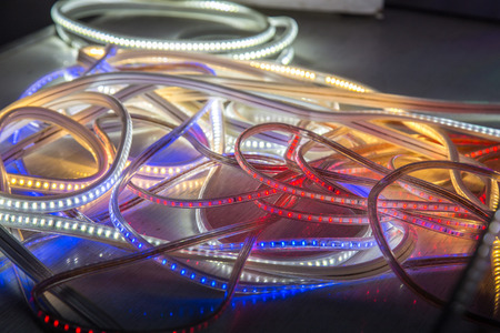 led light strip rgb color