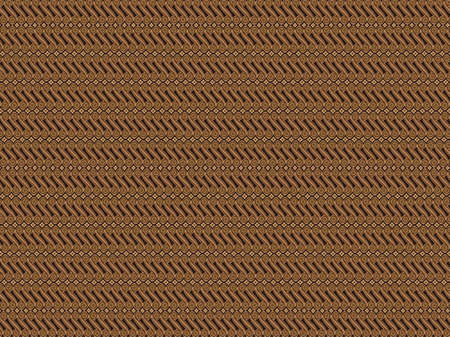 Chocolate batik Illustration