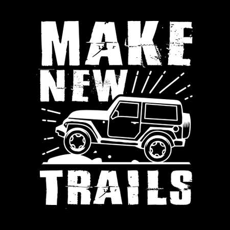 Make new Trails, Best for print Design like Clothing, T-shirt, and other Illustration
