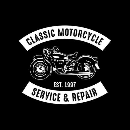 Motorcycle badge, good for print