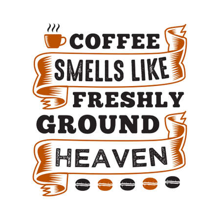 Funny Coffee Quote and Saying. 100 vector best for graphic in your goods Ilustrace